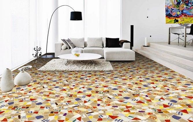 Dinamis-dan-Semarak-mozaik pada lantai